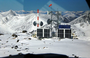 Globelink Telecom providing design and construction of United States Air Force mountaintop communications sites in remote Alaska